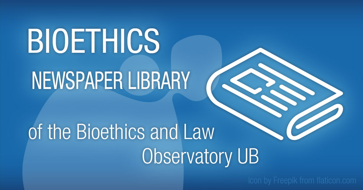 Bioethics News   Bioethics and Law Observatory (OBD) of the
